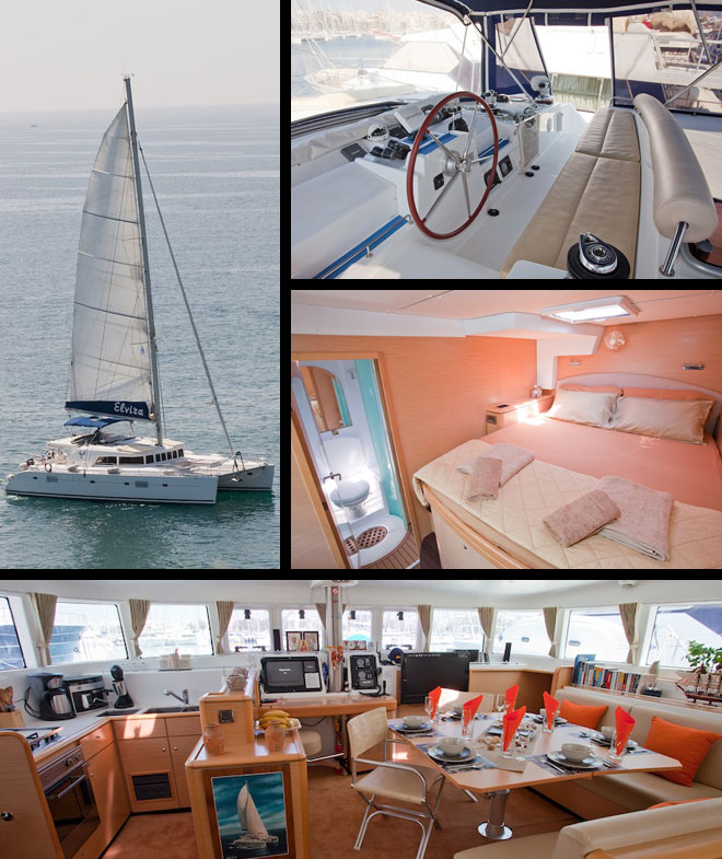 Catamaran Elvira 50ft